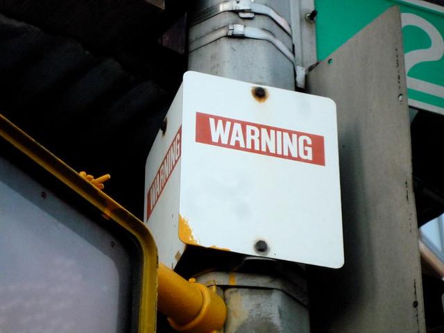 warning: ________