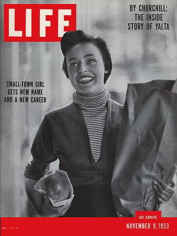 Gordon Parks, Life Mag - Jill Corey Nov. 9, 1953
