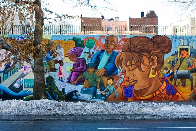 Crown Heights Anti-Gun Violence Mural Completed