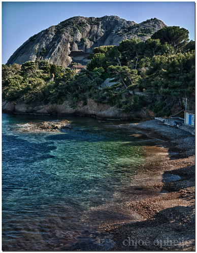 ocean trees mer france green beach nature water digital landscape hdr calanque laciotat gf1 3exp
