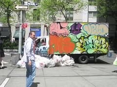 art, road, urban area, graffiti, street, neighbourhood, infrastructure,