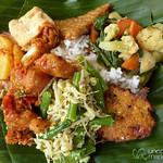 Nasi Campur (Mixed Rice) - Bali, Indonesia