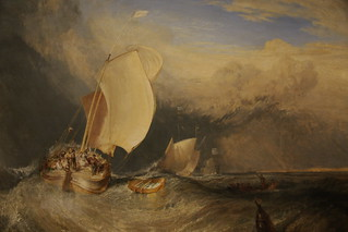 Fishing Boats with Hucksters Bargaining for Fish by J.M.W. Turner