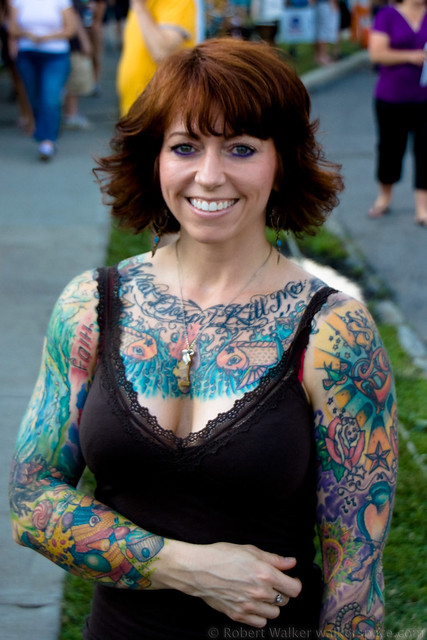 heavily tattooed women a gallery on flickr