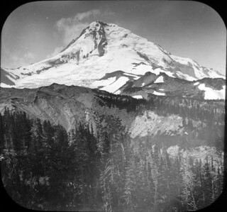 Mount Hood, starting the climb from Government Camp