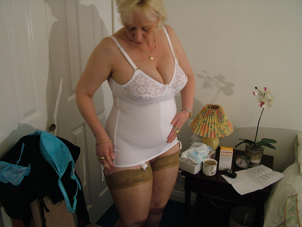 Right! Grannies girdles stockings