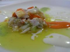 Aperitivo del Restaurante Blanco