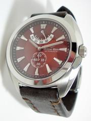 watch, brown, metal, strap, brand,