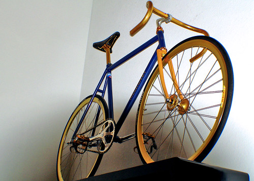 Igleheart Super Gold Track Bike