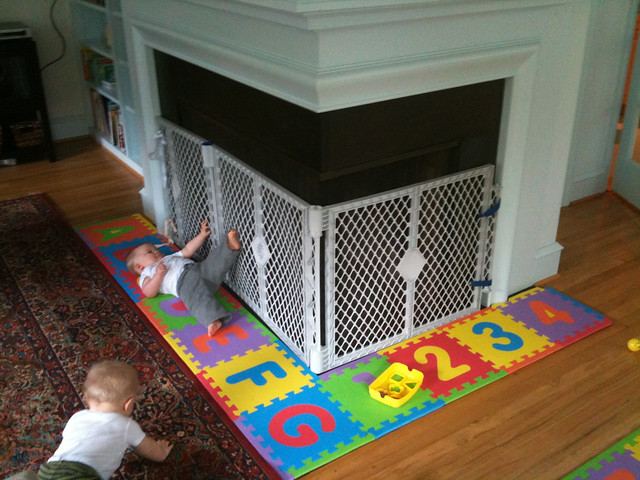 Baby Proofing The Fireplace Flickr Photo Sharing