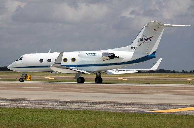 Gulfstream N803NA at EFD