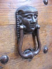 carving, art, temple, sculpture, metal, door knocker, iron, antique,