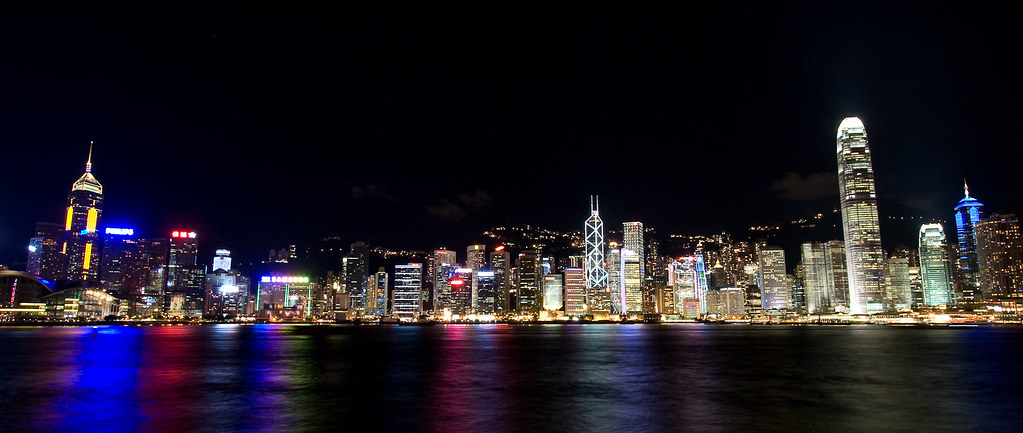 Hong-Kong city of lights
