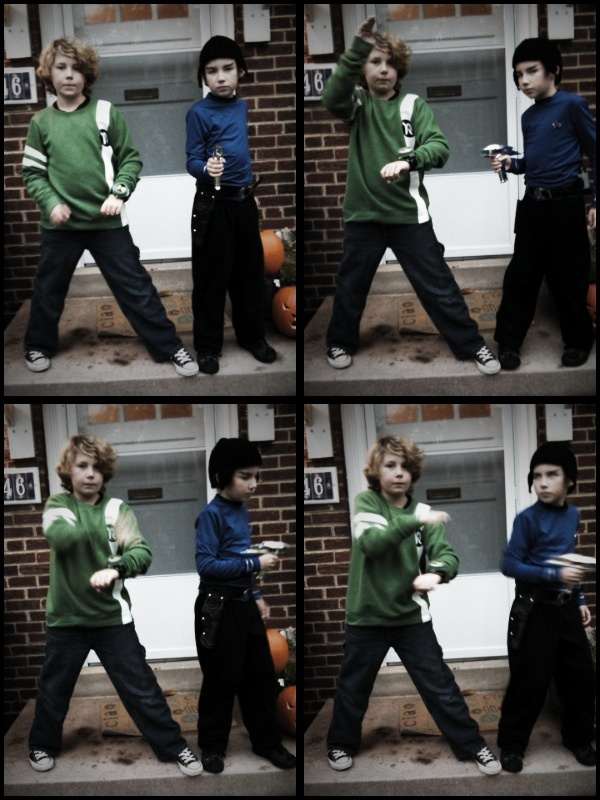 Ben 10 and Spock