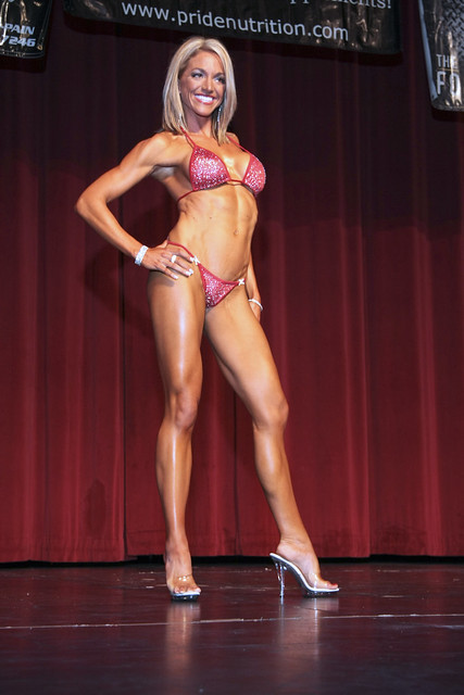 Some of the Bikini contestants from the Midwest Ironman show on 11-7-09.