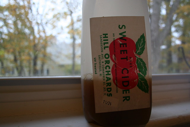 Header of sweet cider