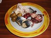 Hors d'oeuvre with Seafood