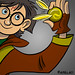 Harry Potter Twitter Avatar by Ape Lad