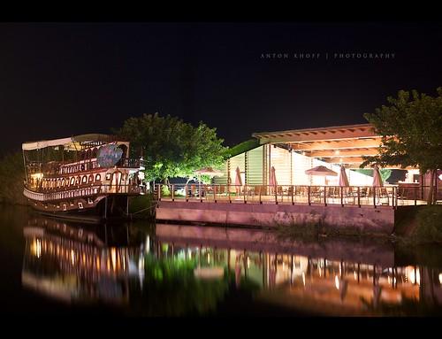 light vacation water night turkey restaurant evening ship takumar september antalya tranquil belek serik antonkhoff