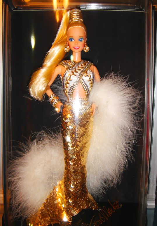 Bob Mackie Gold Barbie Doll 1990 A Photo On Flickriver