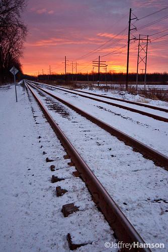 railroad snow sunrise canon sigma rochester 1020 sigma1020 50d canon50d
