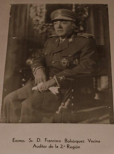 Francisco Bohórquez Vecina, auditor de guerra en Andalucía durante la guerra y la posguerra