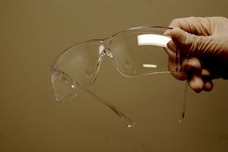 Sicherheitsbrille aus Plexiglas
