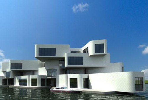 A floating apartment building neatorama for Building a floating home