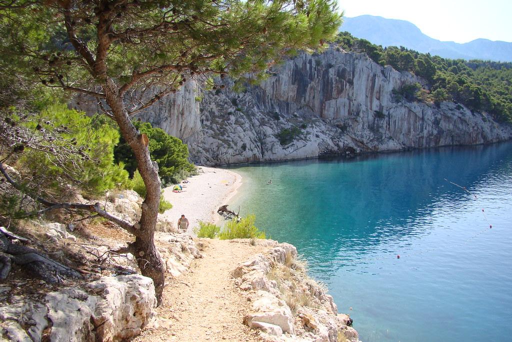 makarska пляж