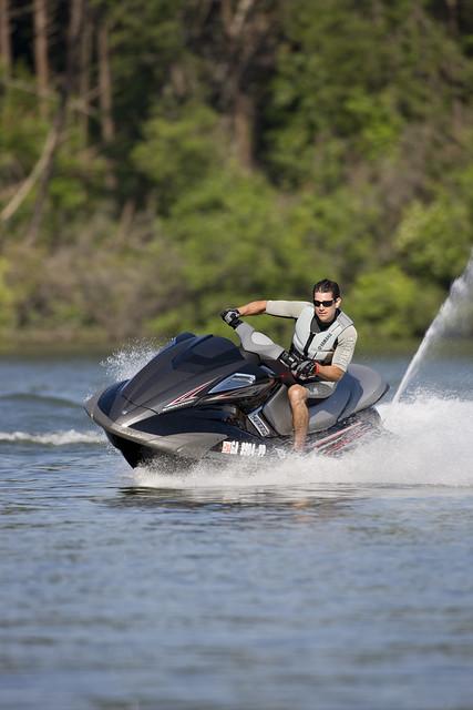 Yamaha Supercharged Boat