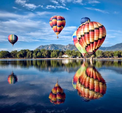 """Colorado Balloon Classic - """"Blue Reflections"""""""