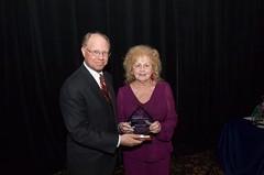 Jeffrey A. Ernico and Award Recipient Sylvia Basich