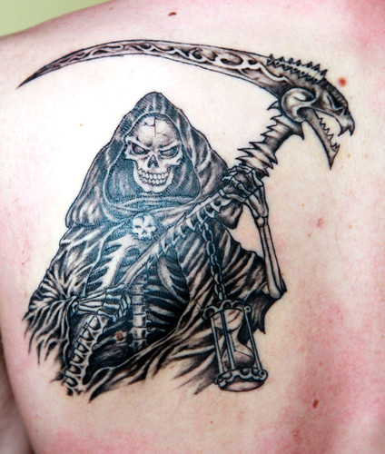 Death Grim Reaper Tattoos