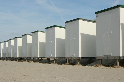 Strandhuisjes in Renesse 2009