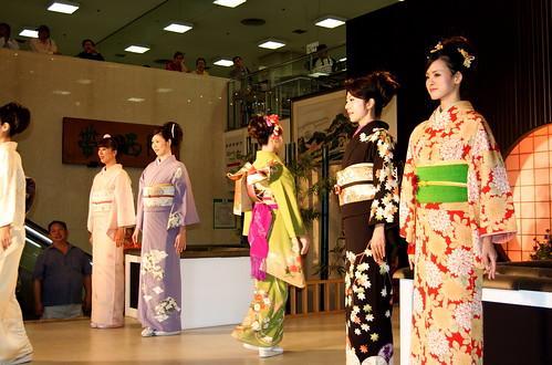Kimono catwalk