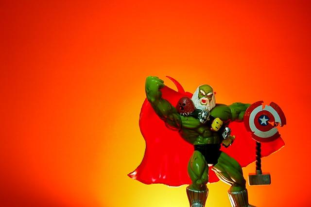 Incredible Hulk Fist Cake Topper