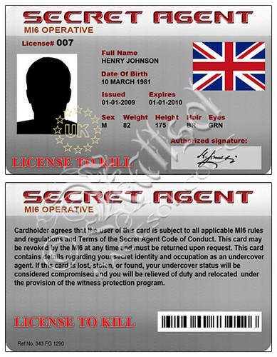Design A Printable Secret Spy Agent Invitation | Party ...