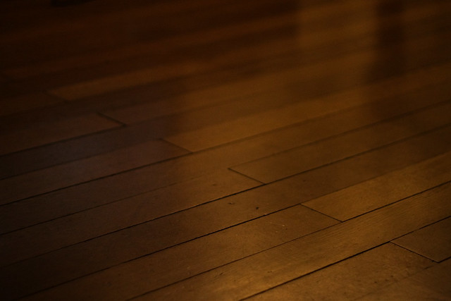 Solid wood floor looks so beautiful even if i do say so m by