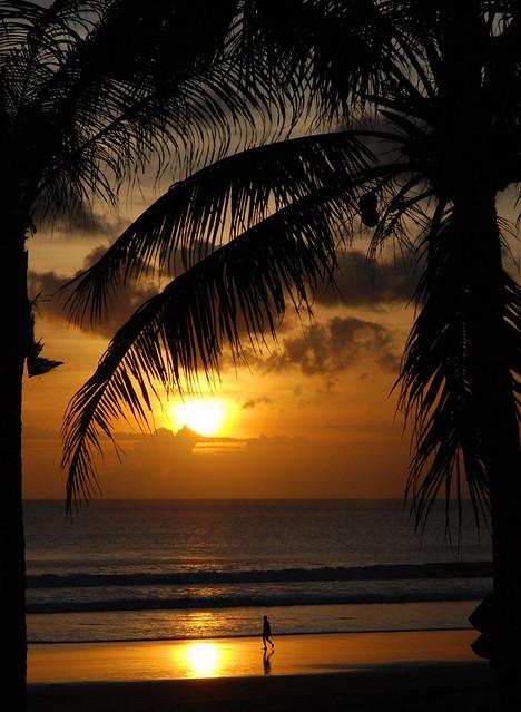 Bali, Indonesia - sunset