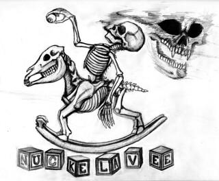 Nuckelavee Inspired Rocking Horse