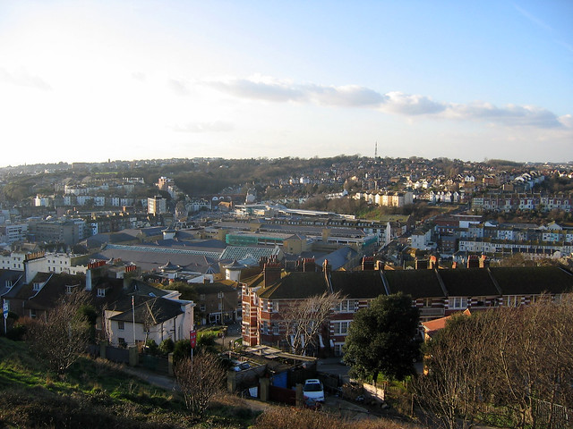 Hastings from West Hill
