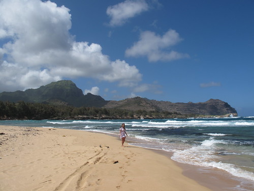 Maha'ulepu Beach in United States