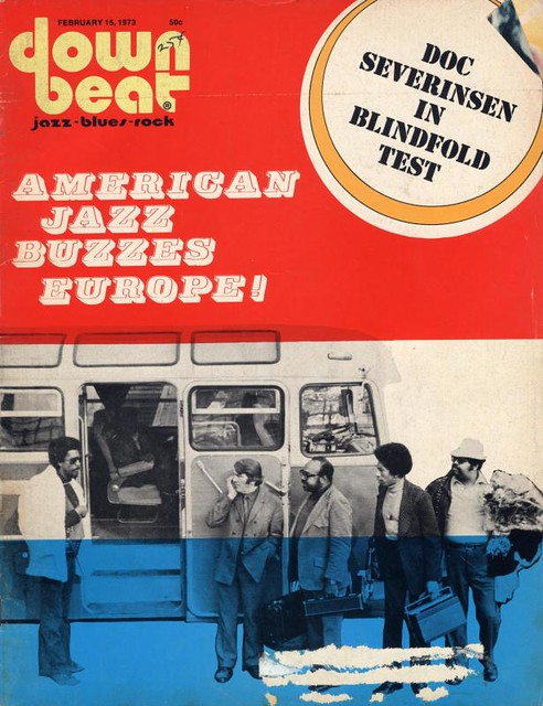 February 1973 Down Beat Magazine