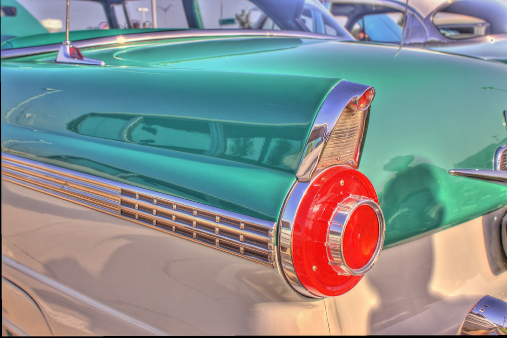 56 Fairlane Tail Light