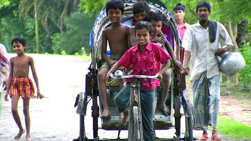 Get a rickshaw ride in the city - Things to do in Chittagong