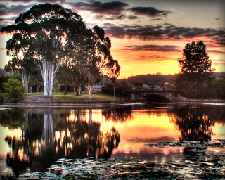 Lake 4 Sippy Sunset