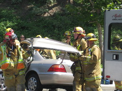 accident, vehicle, firefighter,