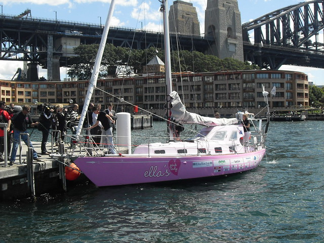 Jessica Watson's Yacht ♥