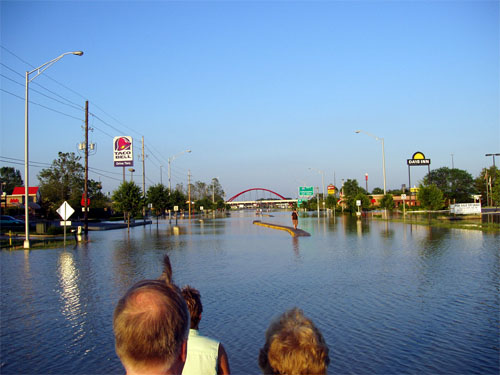 flooding in Indiana in 2008 (courtesy of All American Patriots)