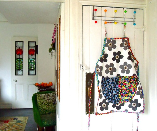 my newly made apron 1, Fujifilm FinePix J100